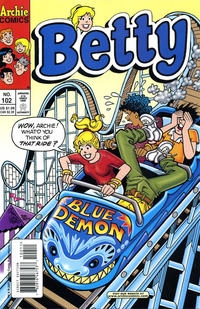 Cover Thumbnail for Betty (Archie, 1992 series) #102