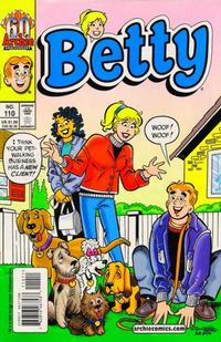 Cover Thumbnail for Betty (Archie, 1992 series) #110 [Direct Edition]