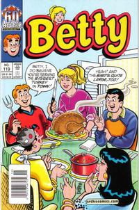 Cover Thumbnail for Betty (Archie, 1992 series) #119 [Newsstand]