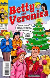 Cover Thumbnail for Betty and Veronica (Archie, 1987 series) #204 [Direct Edition]