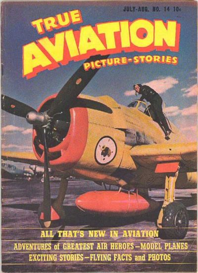 Cover for True Aviation Picture-Stories (Parents' Magazine Press, 1943 series) #14