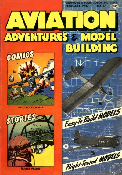 Cover for Aviation Adventures and Model Building (Parents' Magazine Press, 1946 series) #17