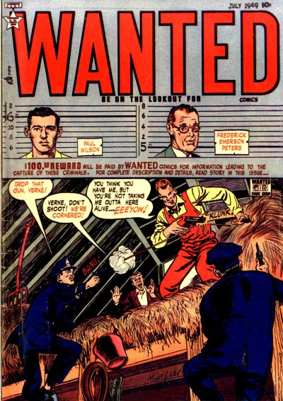 Cover for Wanted Comics (Orbit-Wanted, 1947 series) #21