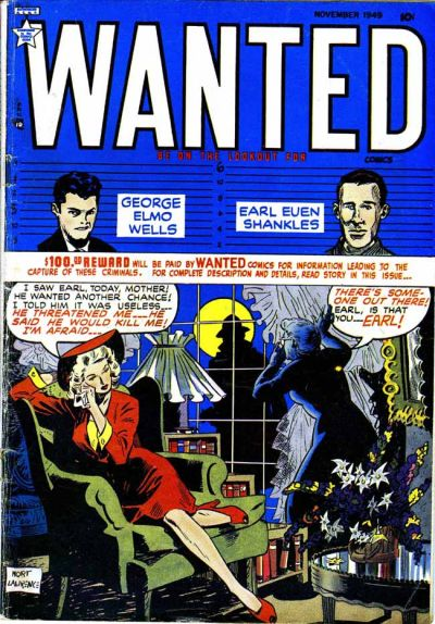 Cover for Wanted Comics (Orbit-Wanted, 1947 series) #23