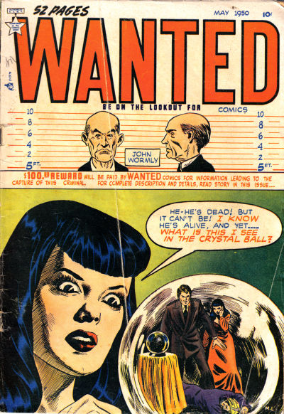 Cover for Wanted Comics (Orbit-Wanted, 1947 series) #26