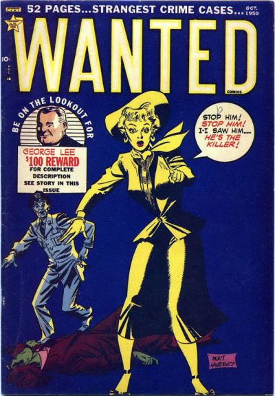 Cover for Wanted Comics (Orbit-Wanted, 1947 series) #30