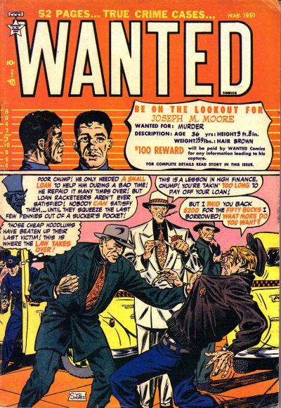 Cover for Wanted Comics (Orbit-Wanted, 1947 series) #37