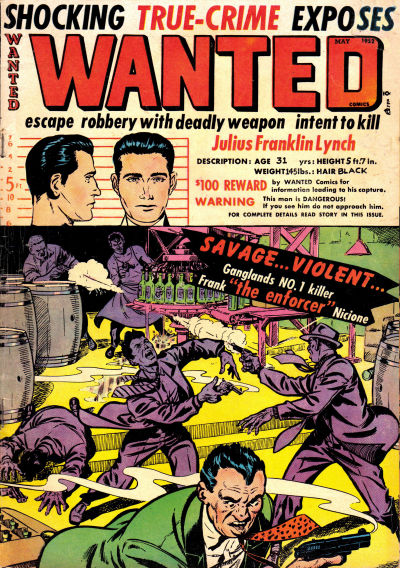 Cover for Wanted Comics (Orbit-Wanted, 1947 series) #47