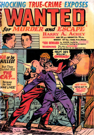 Cover for Wanted Comics (Orbit-Wanted, 1947 series) #48