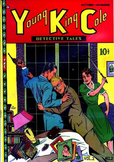 Cover for Young King Cole (Novelty / Premium / Curtis, 1945 series) #v2#2