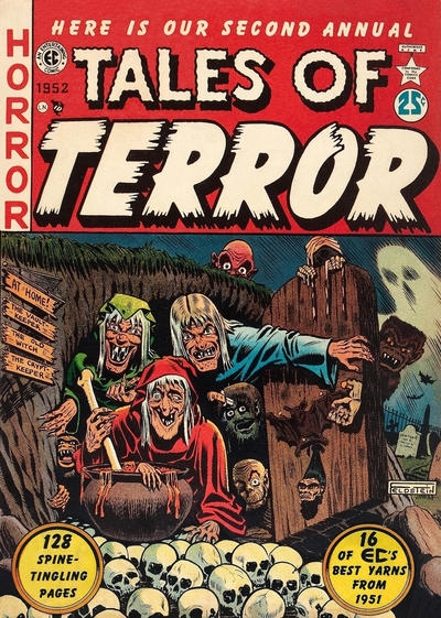 Cover for Tales of Terror Annual (EC, 1951 series) #2