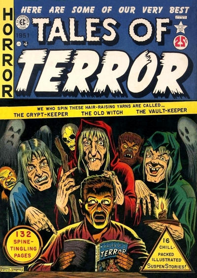 Cover for Tales of Terror Annual (EC, 1951 series) #[nn - 1]
