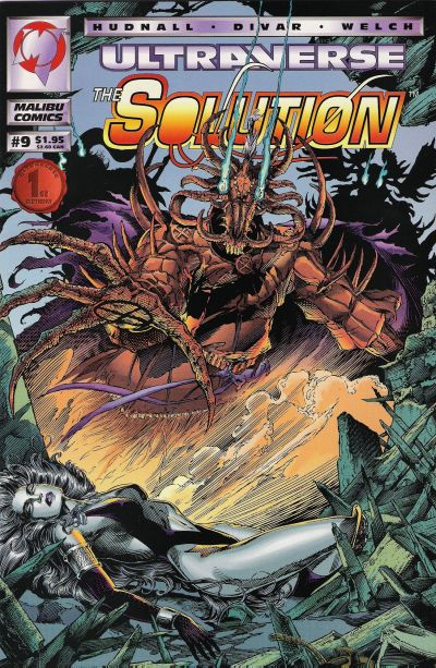 Cover for The Solution (Malibu, 1993 series) #9