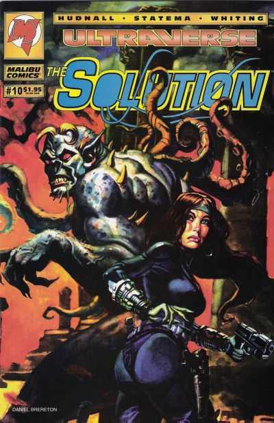 Cover for The Solution (Malibu, 1993 series) #10