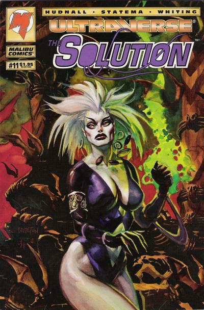 Cover for The Solution (Malibu, 1993 series) #11