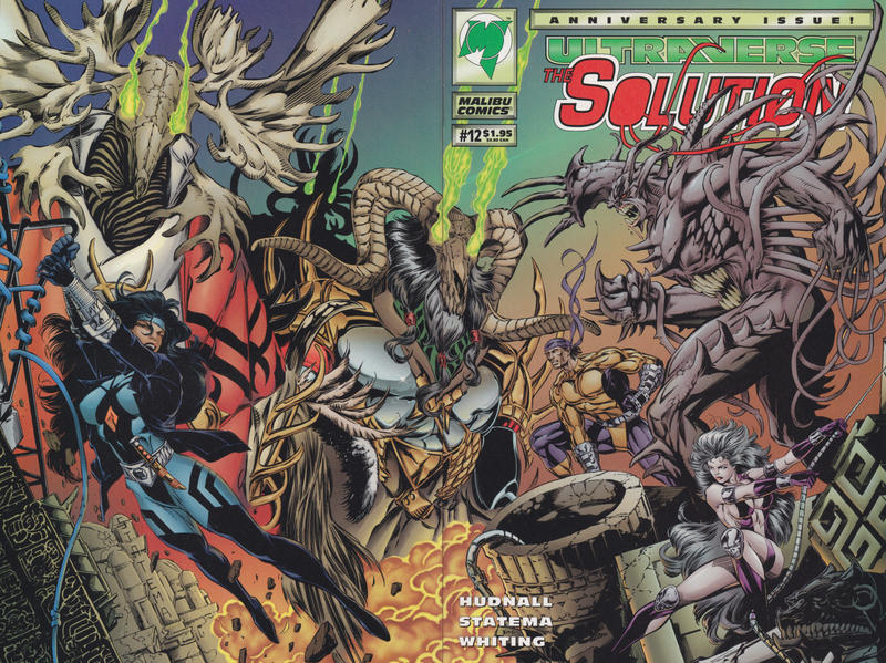 Cover for The Solution (Malibu, 1993 series) #12