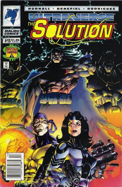Cover for The Solution (Malibu, 1993 series) #13 [Direct]