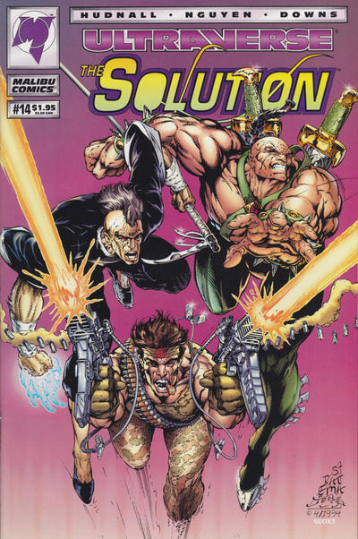 Cover for The Solution (Malibu, 1993 series) #14