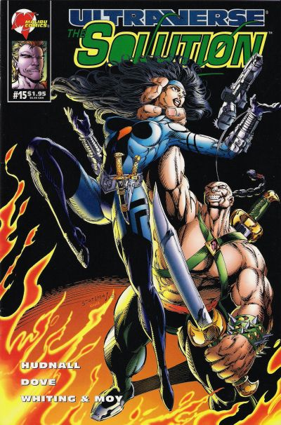 Cover for The Solution (Malibu, 1993 series) #15