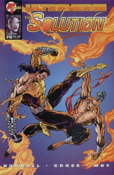 Cover for The Solution (Malibu, 1993 series) #16