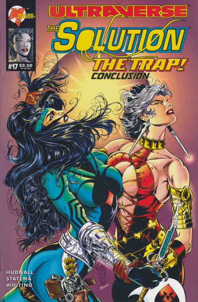 Cover for The Solution (Malibu, 1993 series) #17