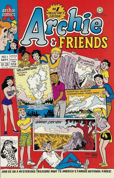 Cover for Archie & Friends (Archie, 1992 series) #1