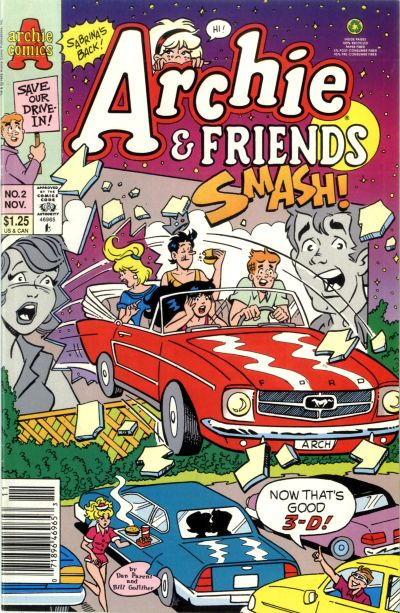 Cover for Archie & Friends (Archie, 1992 series) #2 [Direct]