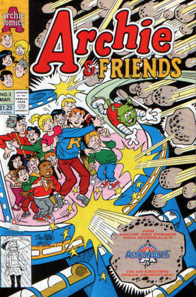 Cover for Archie & Friends (Archie, 1992 series) #3