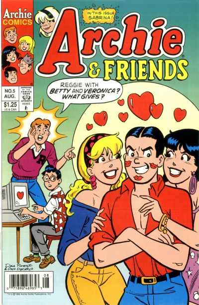 Cover for Archie & Friends (Archie, 1992 series) #5 [Direct]