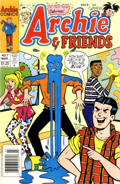 Cover for Archie & Friends (Archie, 1992 series) #7 [Direct]