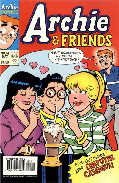 Cover for Archie & Friends (Archie, 1992 series) #14