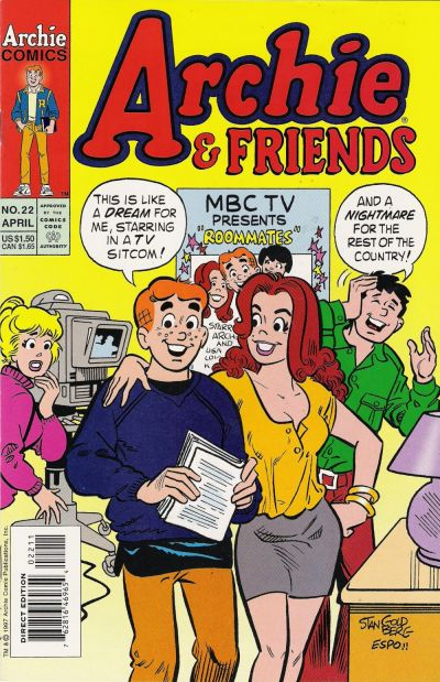 Cover for Archie & Friends (Archie, 1992 series) #22
