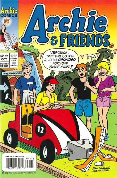 Cover for Archie & Friends (Archie, 1992 series) #25