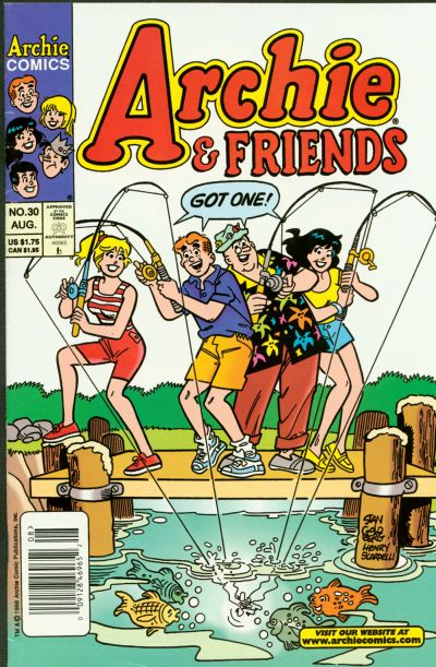 Cover for Archie & Friends (Archie, 1992 series) #30 [Direct Edition]