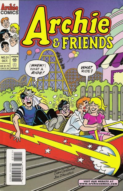 Cover for Archie & Friends (Archie, 1992 series) #31