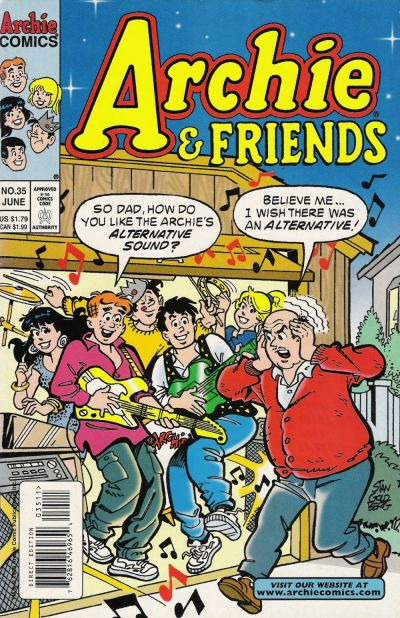 Cover for Archie & Friends (Archie, 1992 series) #35