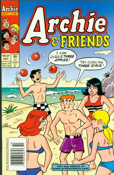Cover for Archie & Friends (Archie, 1992 series) #37