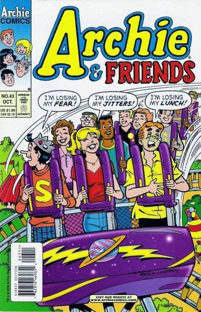 Cover for Archie & Friends (Archie, 1992 series) #43