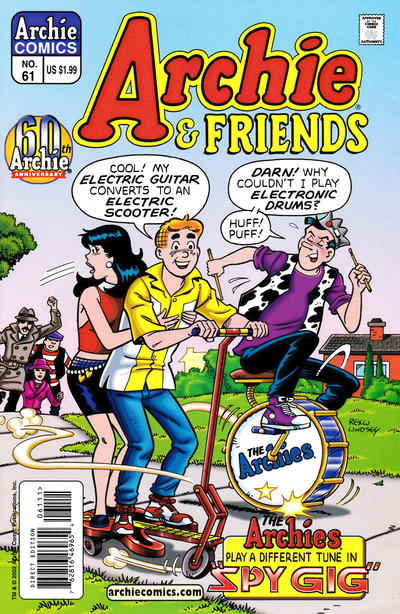 Cover for Archie & Friends (Archie, 1992 series) #61 [Direct Edition]