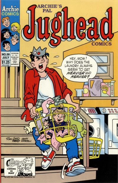 Cover for Archie's Pal Jughead Comics (Archie, 1993 series) #58