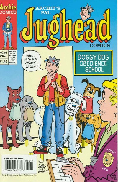 Cover for Archie's Pal Jughead Comics (Archie, 1993 series) #63