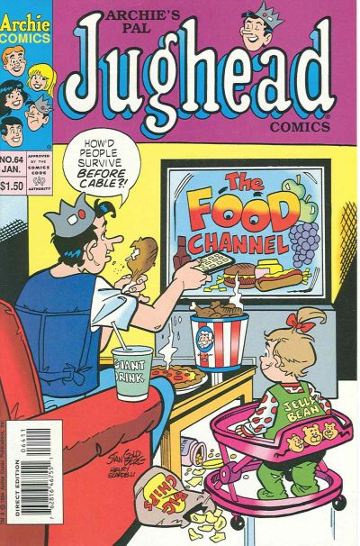 Cover for Archie's Pal Jughead Comics (Archie, 1993 series) #64 [Newsstand Edition]
