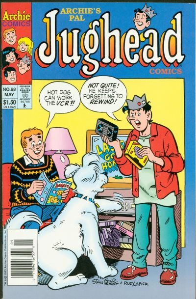 Cover for Archie's Pal Jughead Comics (Archie, 1993 series) #68