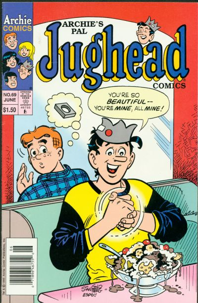Cover for Archie's Pal Jughead Comics (Archie, 1993 series) #69