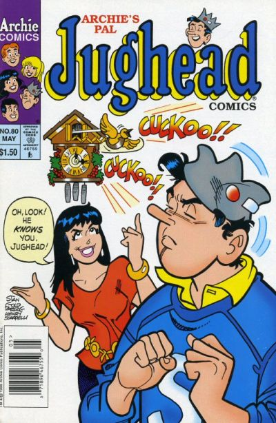 Cover for Archie's Pal Jughead Comics (Archie, 1993 series) #80
