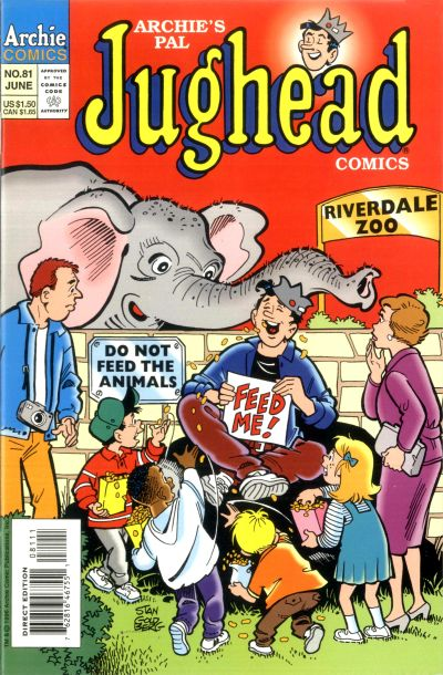 Cover for Archie's Pal Jughead Comics (Archie, 1993 series) #81