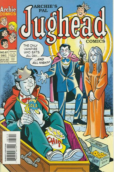 Cover for Archie's Pal Jughead Comics (Archie, 1993 series) #87