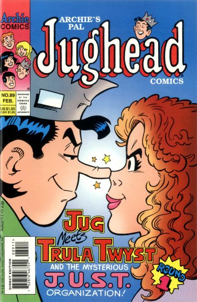 Cover for Archie's Pal Jughead Comics (Archie, 1993 series) #89