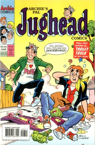 Cover for Archie's Pal Jughead Comics (Archie, 1993 series) #93