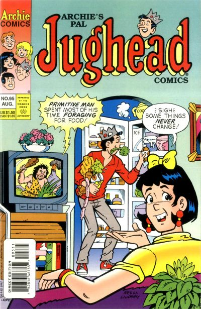 Cover for Archie's Pal Jughead Comics (Archie, 1993 series) #95